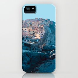 Little Boxes on the Hillside - Cinque Terre iPhone Case