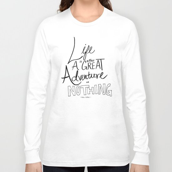 Great Adventure Long Sleeve T-shirt
