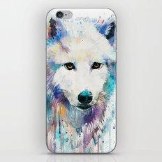 Arctic Wolf iPhone & iPod Skin