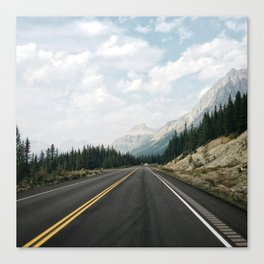Road to Jasper Park Canvas Print