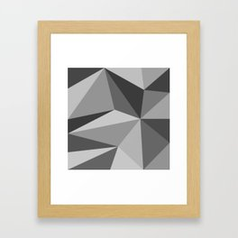 Different shades of Grey Framed Art Print