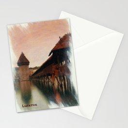 Lucerne Chapel Bridge 1 Stationery Cards