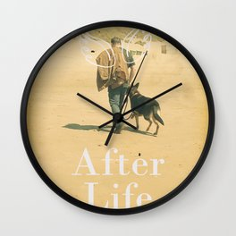 After Life poster, Ricky Gervais, tv series, after-life, British black comedy Wall Clock
