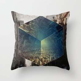 To Ask the Question Throw Pillow