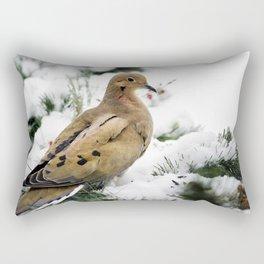 Holiday Dove Rectangular Pillow