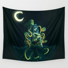 magical mermaid Wall Tapestry