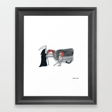 Chivalry is Dead? Framed Art Print