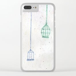 Caged Clear iPhone Case