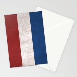 Netherlands Flag (Vintage / Distressed) Stationery Cards