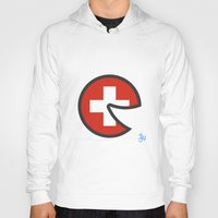 switzerland Hoodies featuring Switzerland Smile by onejyoo