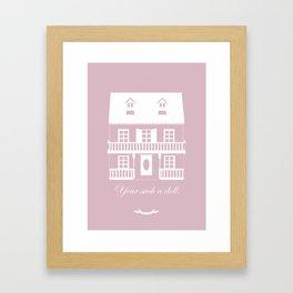 Your Dream house? Framed Art Print