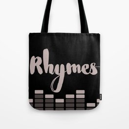 Rhymes Tote Bag