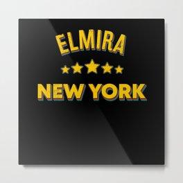Elmira New York Metal Print