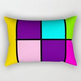 Bright Blocks Rectangular Pillow
