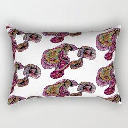 abstract poof Rectangular Pillow