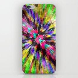 Colorful Starburst Tie Dye iPhone Skin