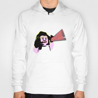 lichtenstein Hoodies featuring Lego Lichtenstein - Scream by Timkirman