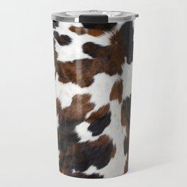 Cowhide Travel Mug