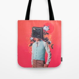 Phonohead Tote Bag