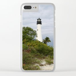 Bill Baggs - Cape Florida Light Clear iPhone Case