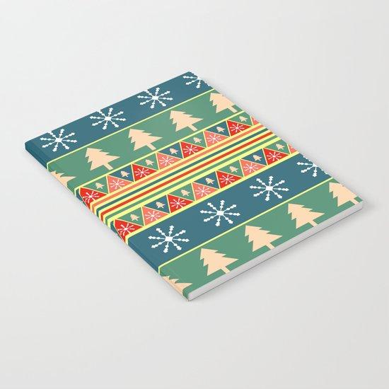 Christmas pattern II Notebook