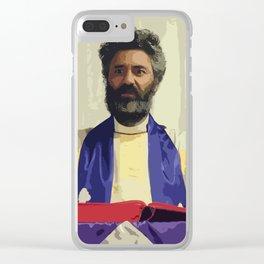 Taika Waititi 18 Clear iPhone Case