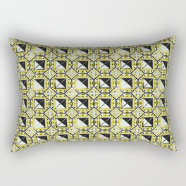 Azulejo, Geometric Pattern Rectangular Pillow