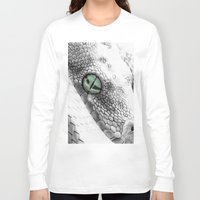 snake Long Sleeve T-shirts featuring Snake by donotseemeart