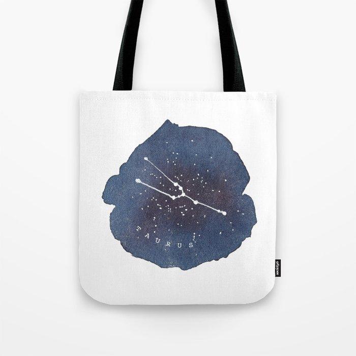 taurus constellation zodiac Tote Bag