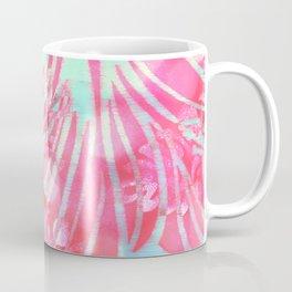 Blue Water Hibiscus Snowfall Coffee Mug
