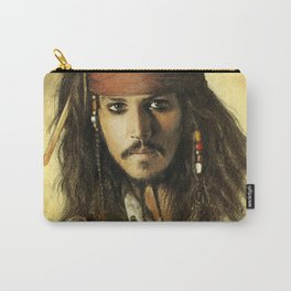 Portrait of a pirate Carry-All Pouch