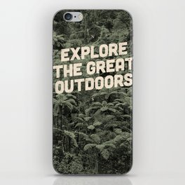 The Explorer iPhone Skin