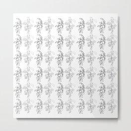 trees in this pattern Metal Print