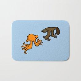 Octopi VS Platypi Bath Mat