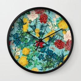 Summer Botanical III Wall Clock