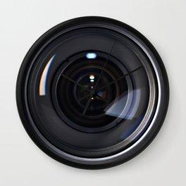 Photo lens front Wall Clock