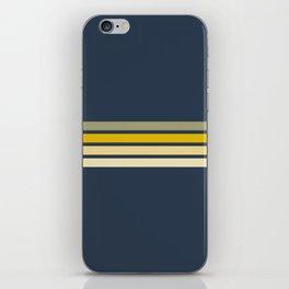 Racing Retro Stripes iPhone Skin