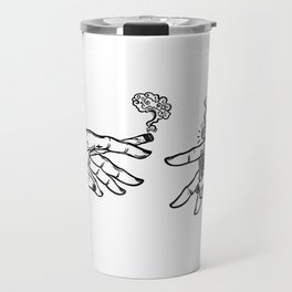 the creation of cannabis Travel Mug