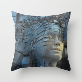 Dissolution of Ego Throw Pillow