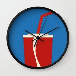 Cup Of Coke Wall Clock