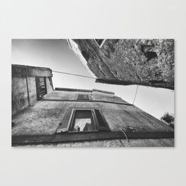 Medieval village in Italy #4 Canvas Print