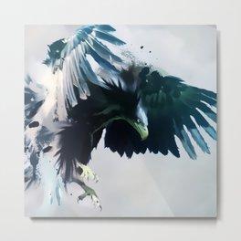 Blue Eagle Metal Print