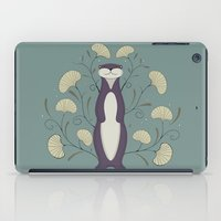 otter iPad Cases featuring Otter by Sophie Mitchell