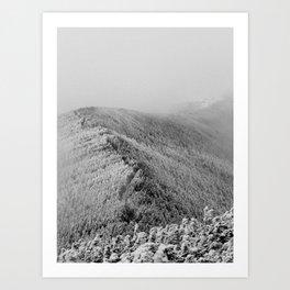 Mists of Mt. Moosilauke Art Print