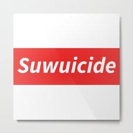 Suwuicide 1 Metal Print