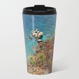 [mallorquin] ... clear blue sea Travel Mug