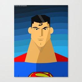 Superman Canvas Print