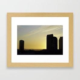 SoCal Winter Sun Framed Art Print