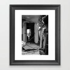 Doorway to Oblivion  Framed Art Print