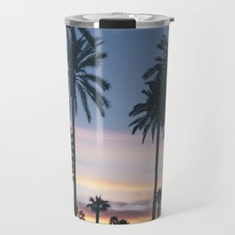 SUNRISE - SUNSET - PALM - TREES - NATURE - PHOTOGRAPHY Travel Mug